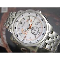 B U L O V A Relógio Bulova Accutron Suiço 63b005 Cronografo