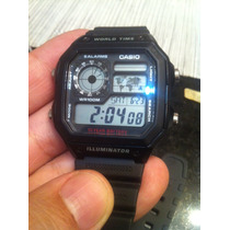 Lindo World Time Casio Ae-1200mh