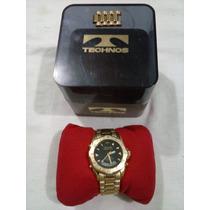 Relógio Technos Skydiver (amarelo Ouro)