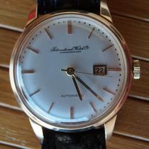 Relógio Iwc Suiço Automático - Ouro 750