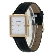 Relógio Feminino De Pulso Quadrado Mondaine 83092lpmkdh1