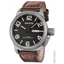 Relógio Magnum Soviet Ma33406c Original Garantia 1 Ano!