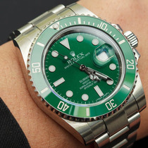 Rolex Submariner Cerâmica Green Hulk 2015 Aceito Troca