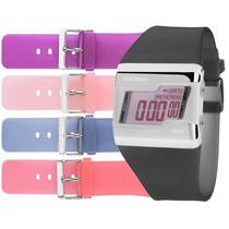 Relógio Mormaii Troca Pulseiras Modelo Fzt/8p