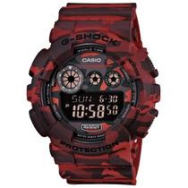 Relógio Casio G-shock Gd-120cm-4dr Camuflado Com Nota Fiscal