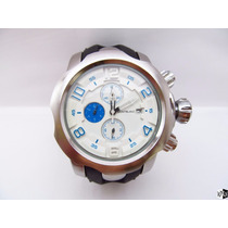 Relógio Estilo Montblanc Double Cronograph