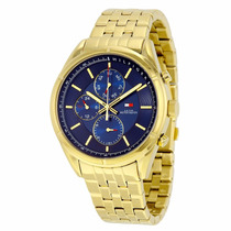 Relogio Banhado Ouro Tommy Hilfiger Gold Top Masculino
