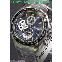 Relógio Masculino Casio Edifice Ef-543d-av-amarelo Encomend