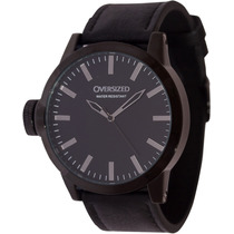 Relógio Grande Social Oversized Wall Street 49mm Dark+black