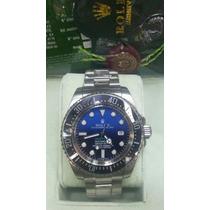 Relogio Maq. Eta Deepsea Sea-dweller Azul Caixa Manual E T A
