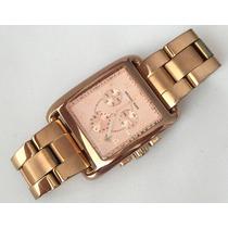 Relógio Feminino Michael Kors Mk-5488 Rosê Cronógrafo