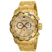 Relógio Invicta Pro Driver 8007 Dourado