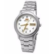 Relógio Orient Automático Fem0201yw9 Pulseira Em Aço