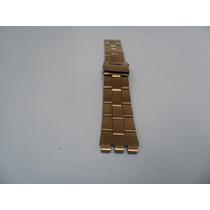 Pulseira De Metal Dourada Swatch 19mm