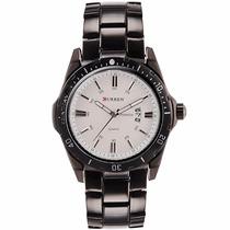 Relógio Importado Masculino Curren Aço Inoxidável 2 Modelos
