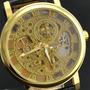 Relógio Masculino De Pulso Prata Ouro Cores Mergulho