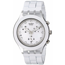 Relógio Swatch Full Blooded White Svck4045ag