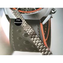 Pulseira Aço Para Tag Carrera Calibre 17 - Nova