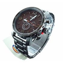 Relógio Fóssil Jr1355z + Nf + Brinde + Garantia De 2 Anos!!!