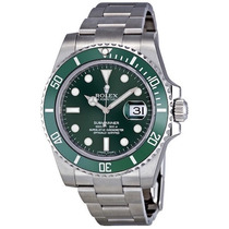 Relogio Rolex Submariner Green Dial 116610l Original Novo
