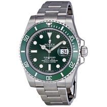 Relogio Rolex Submariner Green Dial 116610l Original Novo