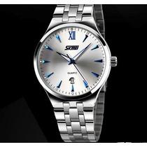 Relógios De Luxo Quartzo Digital Skmei Mod.9071 Mergulho 30m