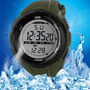 Relógio Esportivo Skmei Resistente À Água Verde Tipo Militar