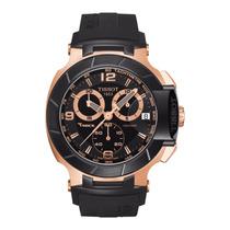 Relógio Tissot Trace Preto Rose Acab. E T A Garantia 12 X