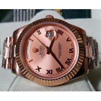 Relógio Eta 2836 Modelo Day-date Ii President Gold