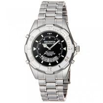 Relógio Technos Aço Masculino Anadigi 15 Atm T20557/1p