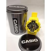 Relógio G-shock Casio Vermelho Amarelo Azul + Frete Grátis
