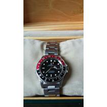 Relógio Rolex Gmt-master Ii Modelo 16710 Em Aço