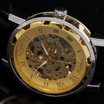 Relógio Importado Winner Skeleton Mecânico