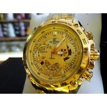 Relógio Masculino Cassio Edifice Dourado