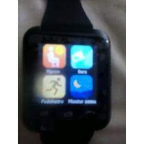 Celular De Pulso E Relógio U 80 Smart Watch Android 5.0