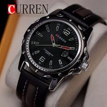Relógio Quartz Masculino Curren 8104 Black, Frete Gratis!!