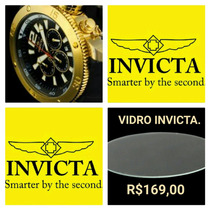 Invicta Vidro Signature 7427, Toda Linha/consultar Modelo.