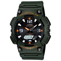 Relógio Casio Aq-s810 W-3a Tough Solar 5 Alarmes H.mundial V