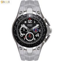 Relógio Masculino Orient Flytech Titânio Mbttc002 P2gx