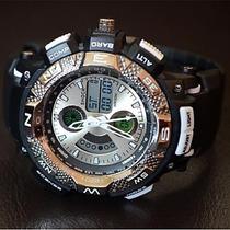 Relógio Esportivo Masc. Display Led -ver//azu/ver/lar/ama/
