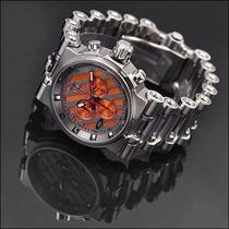 Relógio Oakley Tank Hollow Point Aço Inox