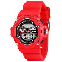 Relógio X Games Xmppa151 Tamanho Caixa 46mm - Garantia 1 Ano