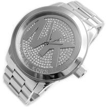 Relógio Michael Kors Mk5544 Prata + Frete Gratis + Garantia