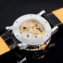 Relógio Skeleton Esqueleto Fuyate Automático Luxo 109 Reais
