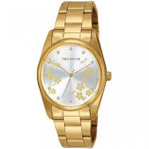 Relógio Technos Feminino Dourado 2035bbu/4k Garantia 1 Ano