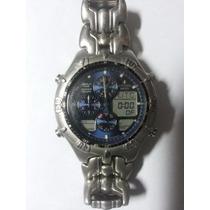 Lindo Relógio Citizen Wr100 Pro Master Chronograph Original