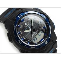 Relógio Casio Sgw-500h Bussola Original Novo Sgw-500 Azul