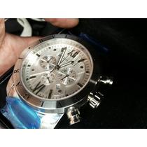 Relógio Bulgari Todo Prata...pronta Entrega!!!!!