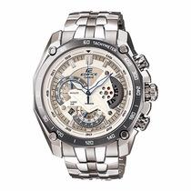 Relógio Casio Edifice Ef-527l Cronógrafo Wr100 Ef527