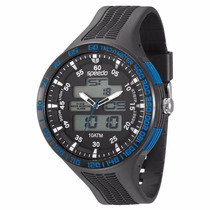 Relógio Speedo Sport Life Ana-digi Crono Alarme 81075g0egnp2